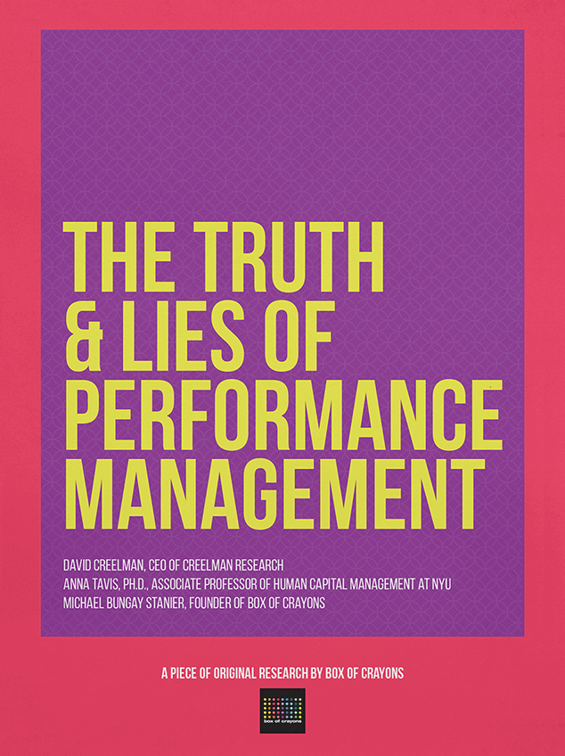 the truth lies of performance management box of crayons