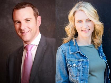 Alex Craddock and Melissa Daimler