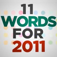 11 Words for 2011