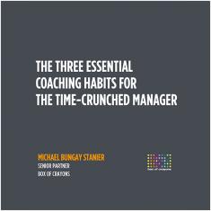 Three Essential Habits