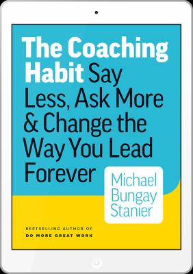 Coaching Habit ebook