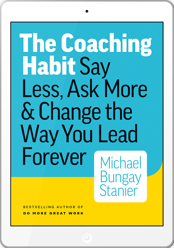 Coaching Habit ebook