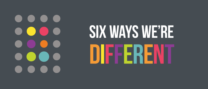 Six Way We're Different